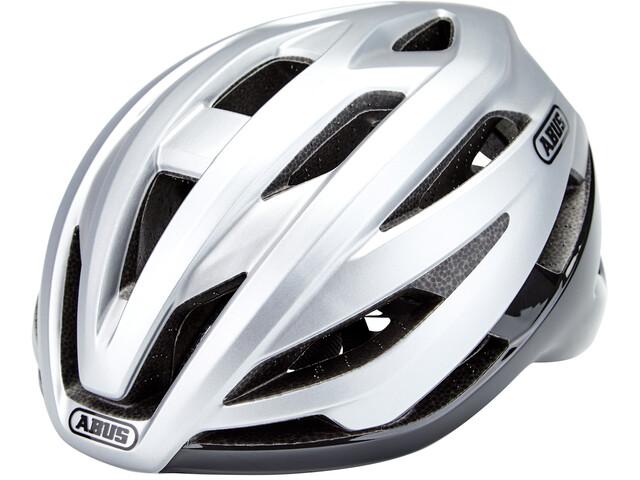 ABUS StormChaser Helm, gleam silver
